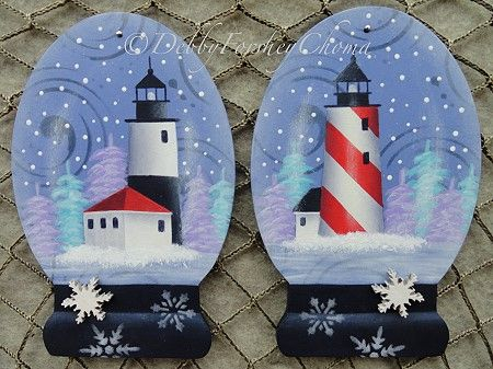 Lighthouse Snow Globes