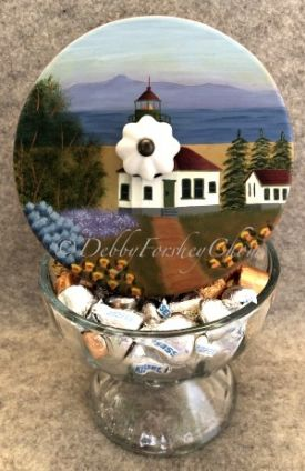 Lighthouse Candy Dish