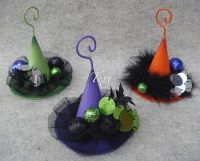 Witches Hat Ornaments